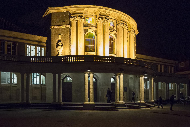 Die Vorträge und Firmenausstellung sowie ein kleinerer Teil der Poster fanden im alten Hauptgebäude der Universität Platz.