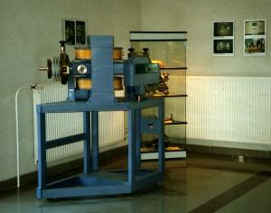 Das Basisgerät (heute als Ausstellungsstück im IPB Halle)
