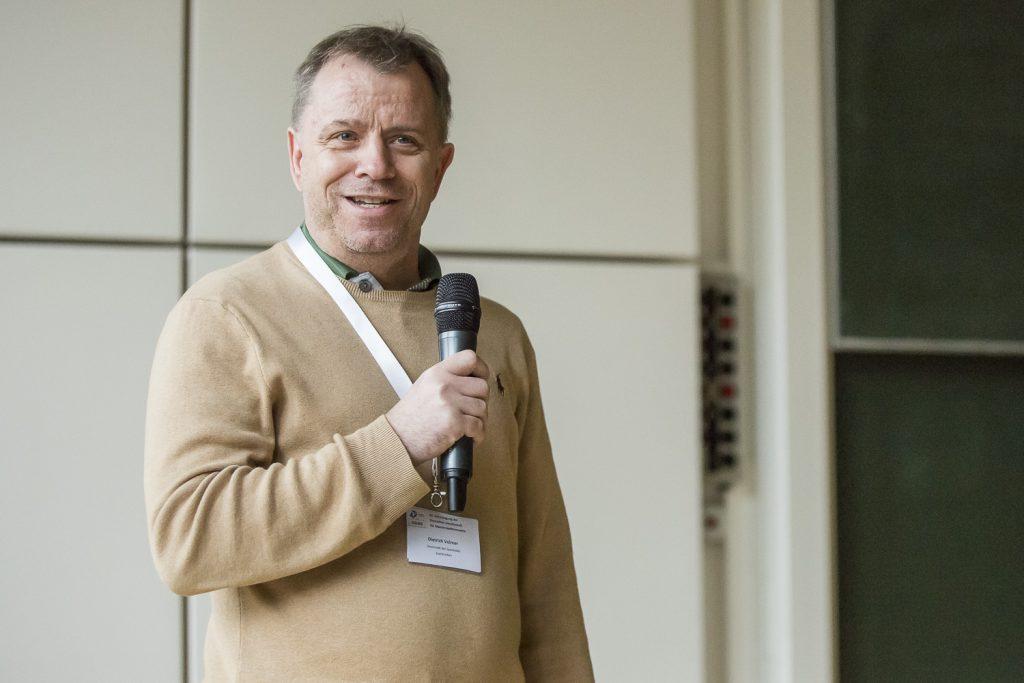 Dietrich Volmer lädt ein zur 51. DGMS-Tagung gemeinsam mit der 35. SFSM-Tagung.