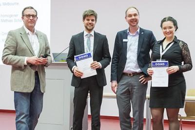 Von links: Michael Mormann, Lukas Fiebig, Simon Lauter, Sonja Klee.