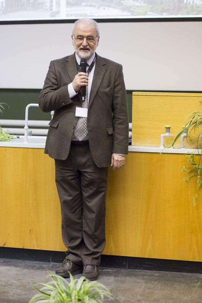 Der DGMS-Vorsitzende Michael Linscheid (HU-Berlin) eröffnet die 47. DGMS-Tagung.