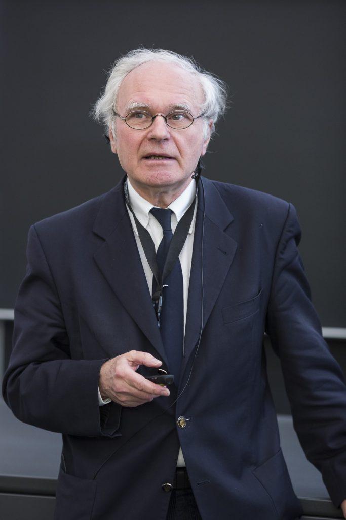 Wolf-Dieter Lehmann (DKFZ Heidelberg) seziert die OMICs.