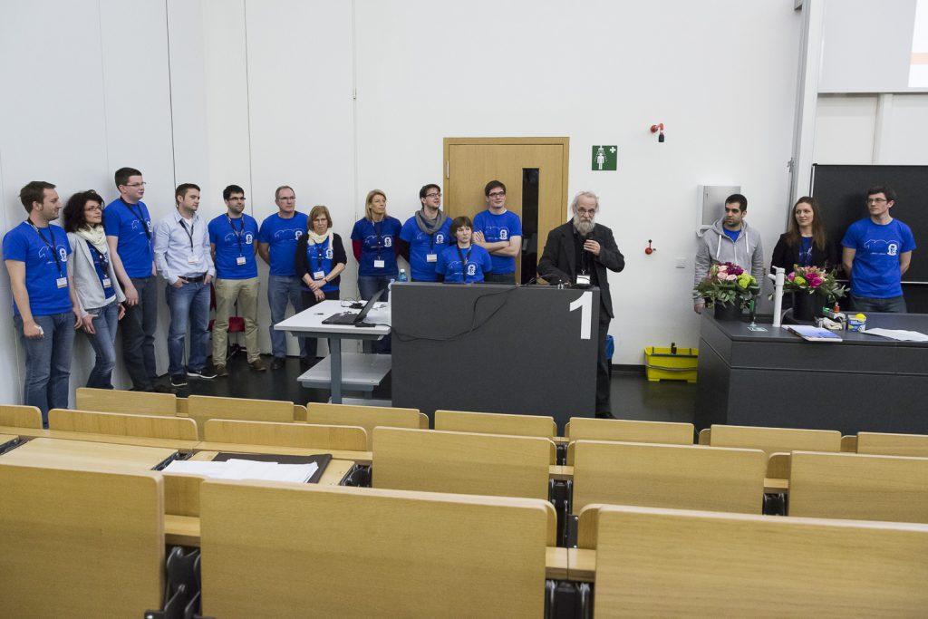 Großer Dank galt einem Team, das die Tagung am Laufen hielt.